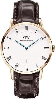 (ダニエルウェリントン) Daniel Wellington 腕時計 1100DW メンズ/レディース ダッパー DAPPER セイントモーズ/ローズ 38mm メンズ腕時計(DW00100083) (DAPPER YORK) [並行輸入品]
