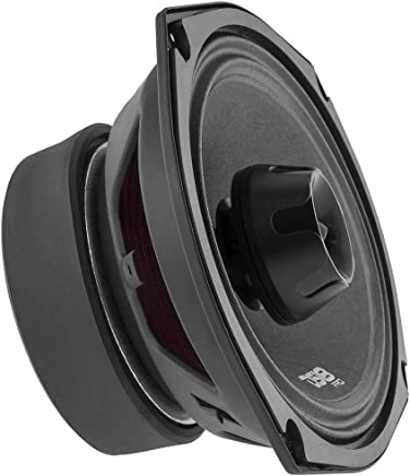 $69 » DS18 PRO-ZT69 Speaker - 6x9, 2-Way Pro Audio Midrange with Built-in Bullet Tweeter, 550W Max, 275W RMS, 4 Ohm, Red Metal Mesh Grill Included - Premium Quality Audio Door Speakers (1 Speaker)