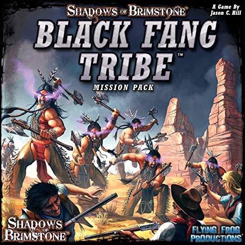 Flying Frog Productions FFP07MP04 Shadows of Brimstone Black Fang Tribe-Mission Set, Mehrfarbig