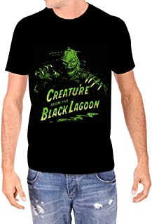 Rock Rebel Creature from The Black Lagoon Men's Green Creature T-Shirt