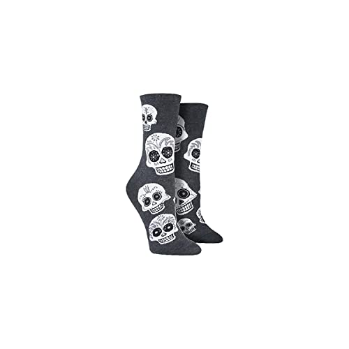 705dcc1858c Socksmith Womens Big Muertos Skull