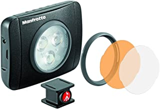 LUMIMUSE 3 LED Light and Accessories - Black