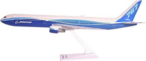 Boeing Demo (04-Cur) 767-400 Airplane Miniature Model Plastic Snap Fit 1 200 Part  ABO-76740H-005