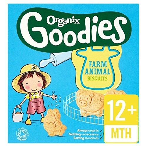 Organix Biscuits Animales 100G - Paquet de 6