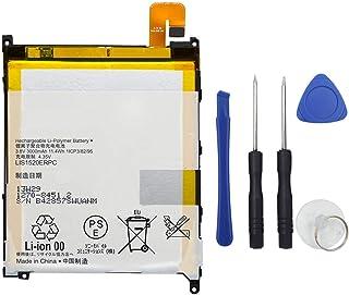 MUKUZI バッテリー Xperia Z Ultra SOL24 C6802 C6803 C6833 LT39h 互換 バッテリー LIS1520ERPC 電池 3.8V 3000mAh