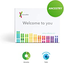23andMe DNA Test: Ancestry + Traits Personal Genetic Service with 1,500+ Geographic Regions, DNA Relative Finder (Opt-in) & Automatic Family Tree