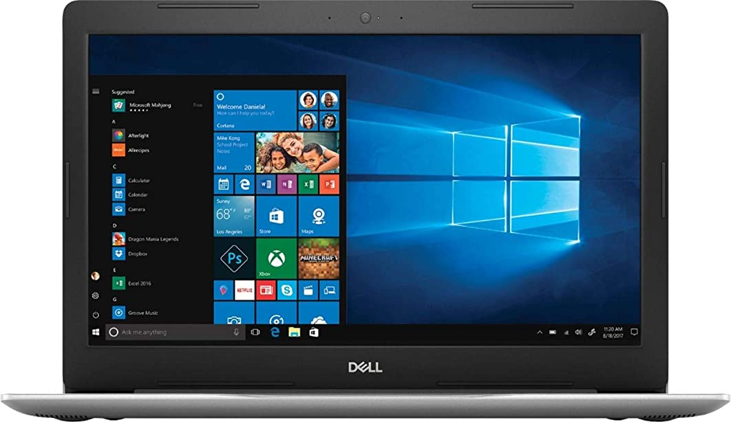 """2018 Flagship Dell Inspiron?15 5000 15.6"""" Full HD Touch-Screen Business Laptop, AMD Quad-Core Ryzen 5?2500U up to 3.6GHz 16GB DDR4 128GB PCIe NVMe SSD+1TB HDD Backlit Keyboard MaxxAudio Pro Win 10"""