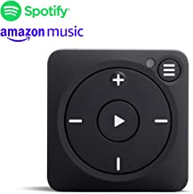 Mighty Vibe Spotify and Amazon Music Player - Bluetooth & Wired Headphones - 1,000+ Song Storage - No Phone Needed - Black