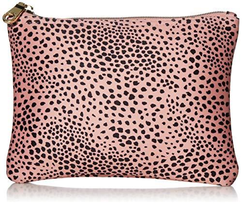 Seafolly Damen Printed Travel Bikini Bag with Zipper Sunhat, Safari Spot Rose Sand, Einheitsgröße