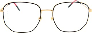 Gucci GG0396O Sophisticated 80's Octagonal Eyeglasses 56mm