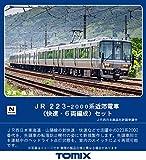 TOMIX Nゲージ 223-2000系近郊電車 快速 6両編成 セット 6両 98393 鉄道模型 電車