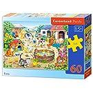 Castorland CSB06663 Classic Farm Jigsaw Puzzle, 60 Pieces Set, Multicolour