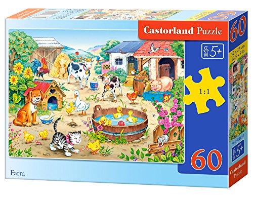 Farm 60 pcs Puzzle   Rompecabezas (Puzzle Rompecabezas, Dibujos, Niños, Niño/niña, 5 año(s), Interior)