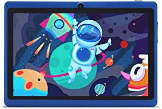 "Haehne 7"" Tablet PC, Google Android 9.0 GMS HD Tablet, 1GB RAM 16GB ROM Quad Core, Cámaras Duales, WiFi, Bluetooth, Azul"