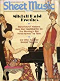 cover: Sheet Music Magaizine -- Mitchell Parish Favorites