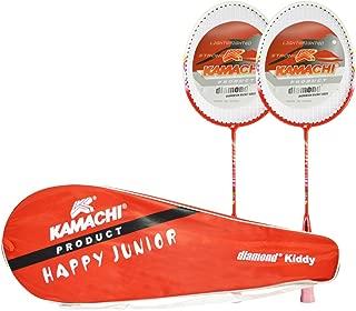 Kamachi Kiddy Diamond Aluminum Badminton Combo (Multicolor)