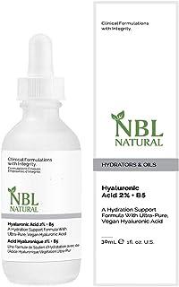 NBL Natural Hyaluronic Acid 2% + B5 Hydrator Serum, 30 ml
