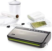 FoodSaver FFS005X Machine sous Vide avec Compartiment de Rangement pour Rouleau et Cutter, Fonction Pulse pour Aliments Fr...