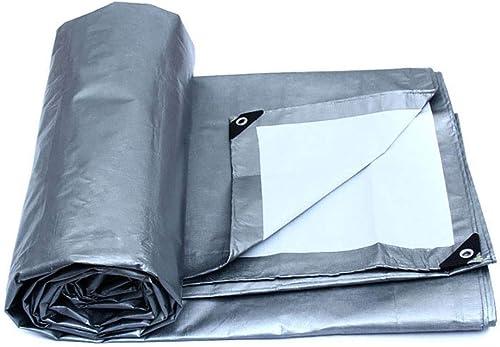 Bache de Prougeection épaissir Toile Plastique Crème Solaire Tissu Imperméable Imperméable Visière en Plein Air Isolation 180g   M2 (Taille   12×8M)