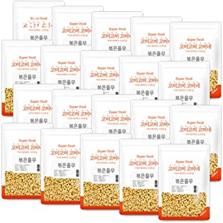 Gomine Korean Roasted Adlay, 20g, Natural Snack, Great with Smoothies, Rice & Tea, Rich Amino Acid with Lysine, Travel Siz...