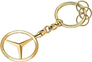Pulido Brillante. MB Llavero de Mercedes Benz de Color Plateado y Zinc Fundido a presi/ón