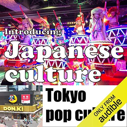 Introducing Japanese culture -Tokyo pop culture- Titelbild