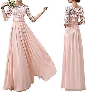 فستان سهرة دانتيل للنساء من دوبلس