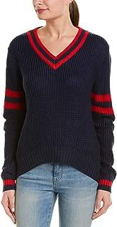 Women's Long-Sleeve V-Neck Sweater