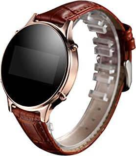 MT360 Android Bluetooth Pedometer Smart Wrist Watch + PU Band OLED Screen with Call Reminder Remote Camera Anti-lost