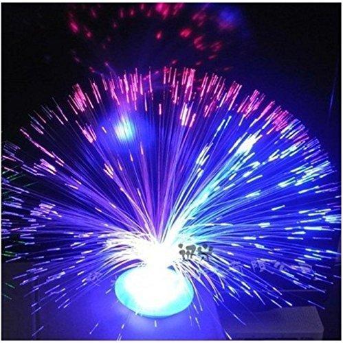 Gemini _ Mall® LED-Nachtlicht für Weihnachtsbaum, farbwechselnd, Weihnachtsdekoration, Geschenke, 1 Packung Fibre Optic Night Light