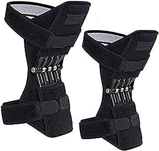 GBHJJ knäbooster, knäbooster ledsstöd, 1 par ledstöd stabiliseringsdynor för män kvinnor knäfjäder stöd, för ledsmärtlindr...