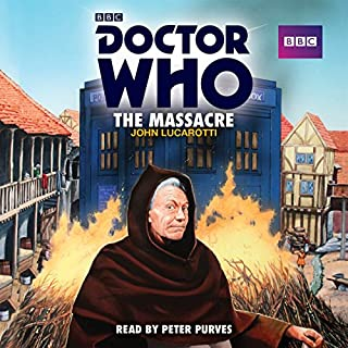 Doctor Who: The Massacre audiobook cover art