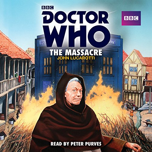 『Doctor Who: The Massacre』のカバーアート