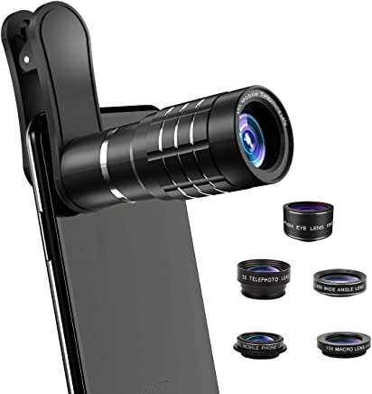 Phone Camera Lens, [2019 Latest Version] AOMAIS 9 in 1...