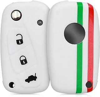 N A se adapta a Fiat Gran Punto 500 BRAVO DUCATO PANDA 3 botones llave llavero remoto caso 3 llaves protector coche accesorios