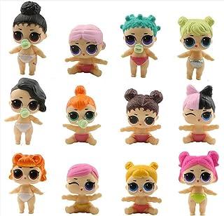Yurnoet 12PCS the new LOL cupcake Topper Decorative Supplies,12 pcs l.o.l cupcake topper l.o.l...