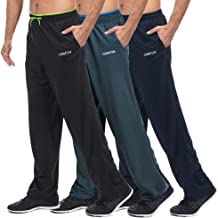 CENFOR Men's Sweatpants with Pockets Open Bottom Workout Pants, for Athletic,..