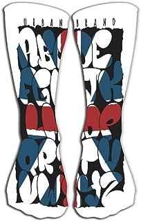 YILINGER Women's Men's Cool Colorful Casual Socks 19.7