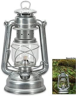 Feuerhand Lantern from Germany - Silver Galvanized Silver Galvanized