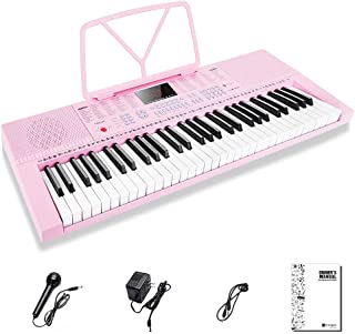 Digital Electric Keyboard Piano, Premium 49-Key Portable Ele