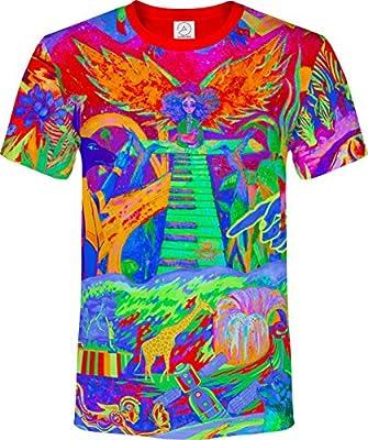 Musical Print Creative Sign Robot Future Letter Casual Tee Shirt Men Women