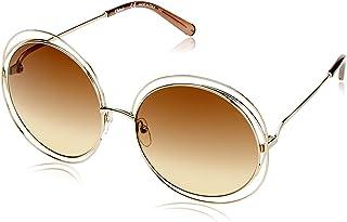 264fb4b67516 Sunglasses CHLOE CE114S 773 GOLD TRANP BROWN GRAD BROWN O