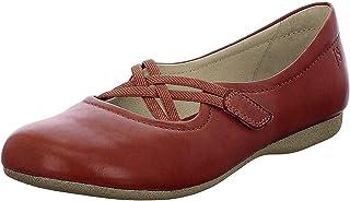 Josef Seibel Fiona 41 Flat Shoes Women Red Ballerinas Shoes