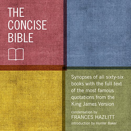 The Concise Bible audiobook cover art