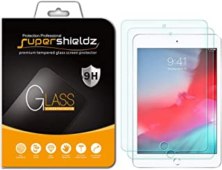 (2 Pack) Supershieldz for Apple iPad Mini 5 (2019) and iPad Mini 4 Tempered Glass Screen Protector, Anti Scratch, Bubble Free