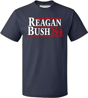 Reagan Bush 84 Republican Presidential GOP Men's T-Shirt