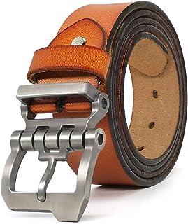 Designer Belts for Men Big and Tall Genuine Leather Belt for Jeans All Size 28-64