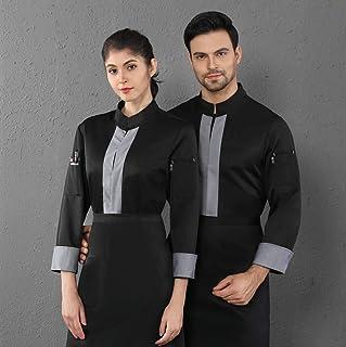 Amazon.es: Camisa negra - Ropa y uniformes de trabajo / Ropa especializada: Ropa