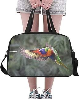 Handbag Women Flying Bird Prepared For Landing On Yoga Gym Totes Fitness Handbags Duffel Bags Shoe Pouch For Sport Luggage Womens Outdoor Bag Handbag