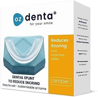 Dispositivos Anti Ronquidos Solucion Férula Dental Placa de Descarga Nocturna Protector Bucal para dormir, anti Bruxismo Rechinar los dientes y los Trastornos del ATM Dejar De Roncar